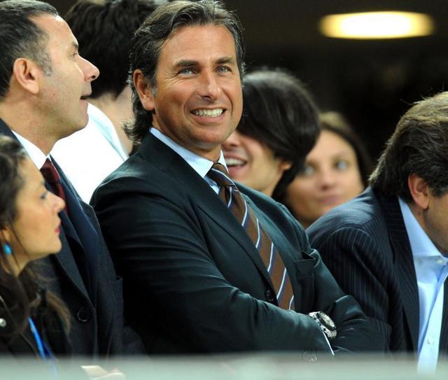 Gianluca Paparesta in tribuna, foto: Fonte Web
