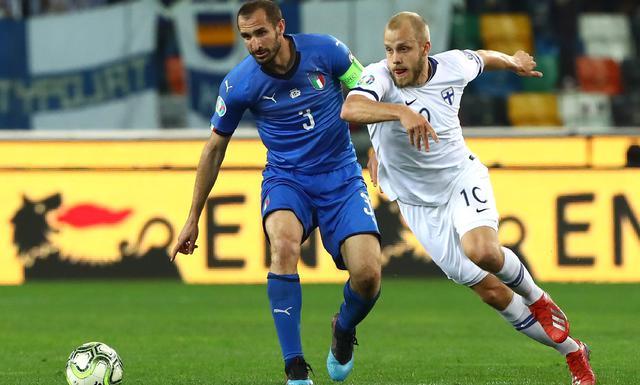 Una fase di Italia-Finlandia, foto: Figc.it