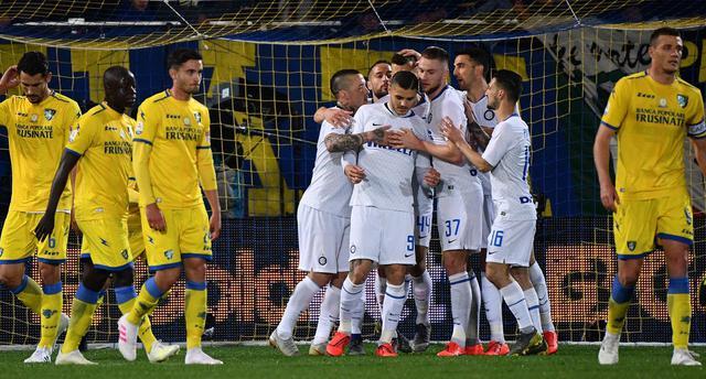 L'esultanza dell'Inter, foto: Fonte Web