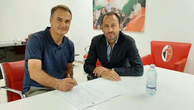 Il tecnico Vincenzo Cornacchini, FOTO: FONTE WEB