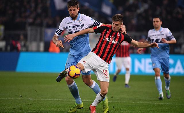 Una fase di Lazio-Milan, foto: Fonte Web
