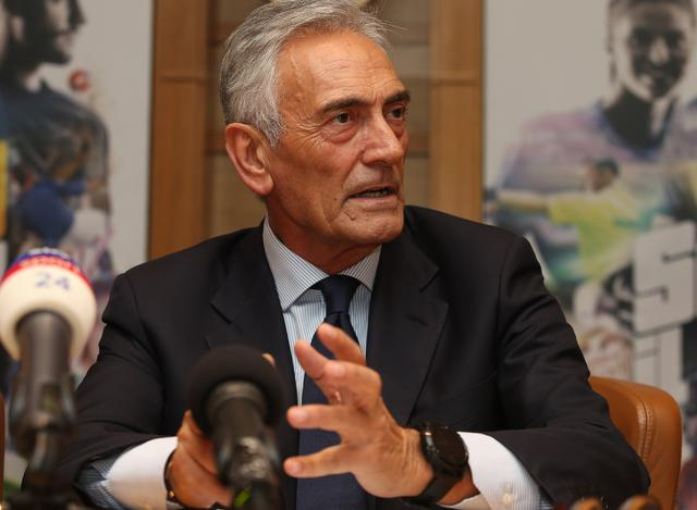 Il neo presidente della Figc Gabriele Gravina, foto: Fonte Web