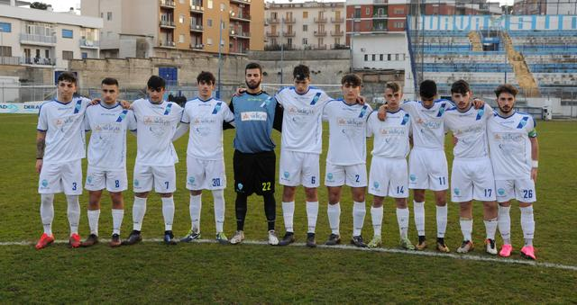 La formazione dei biancoazzurri, foto: Sandro Veglia