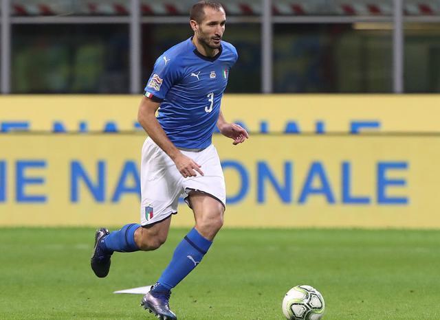 Il difensore Giorgio Chiellini, foto: Figc.it