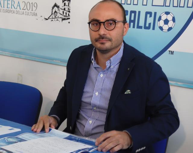 Il direttore generale Claudio Gaudiano, foto: TuttoMatera.com