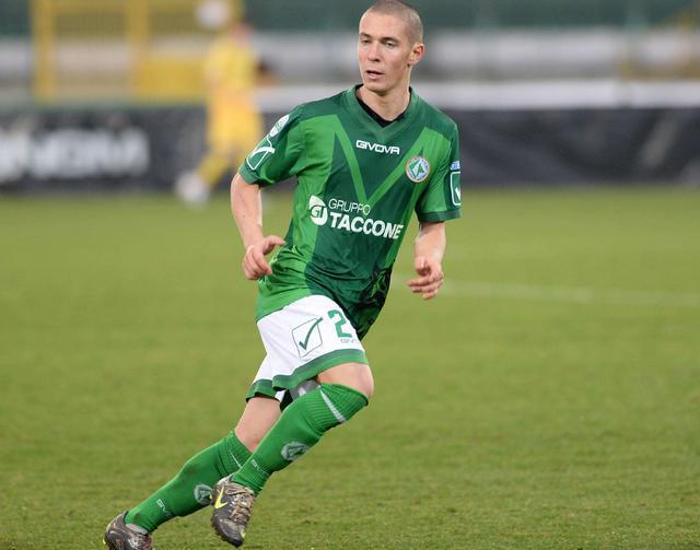 Il centrocampista Fabrizio Paghera, foto: Fonte Web