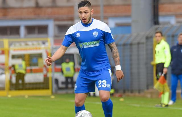 Il centrocampista Francesco Urso, foto: Emanuele Taccardi