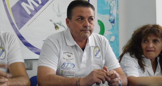 Il vice-presidente Tommaso Taccardi, FOTO: TUTTOMATERA.COM