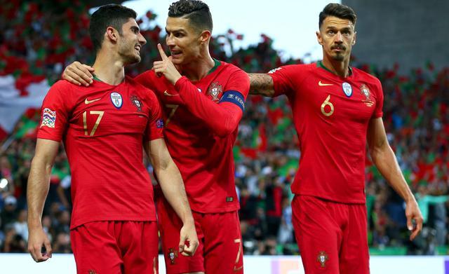 L'esultanza del Portogallo, FOTO: UEFA.COM