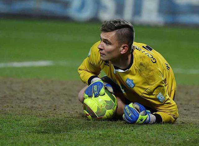 Il portiere Adnan Golubovic, foto: Giuseppe Scialla