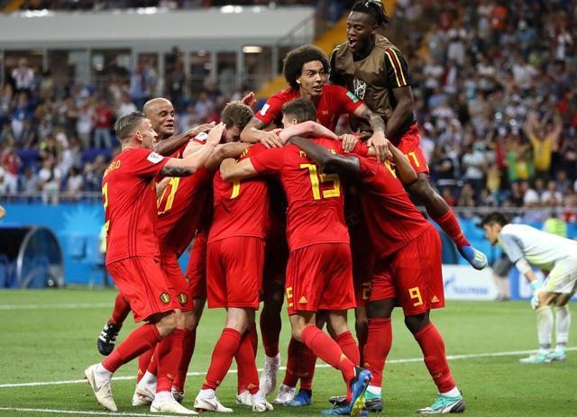 L'esultanza del Belgio dopo la rimonta, foto: Fifa.com