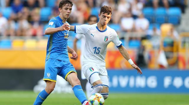 Una fase di Ucraina-Italia, FOTO: FIFA.COM