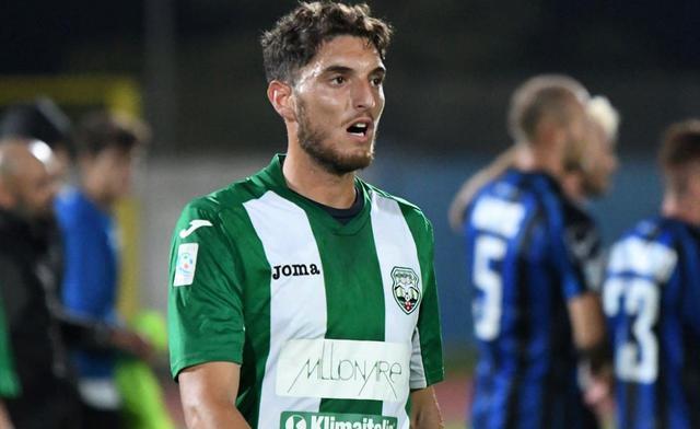 Il centrocampista Giuseppe Maimone, foto: Gabry Latorre