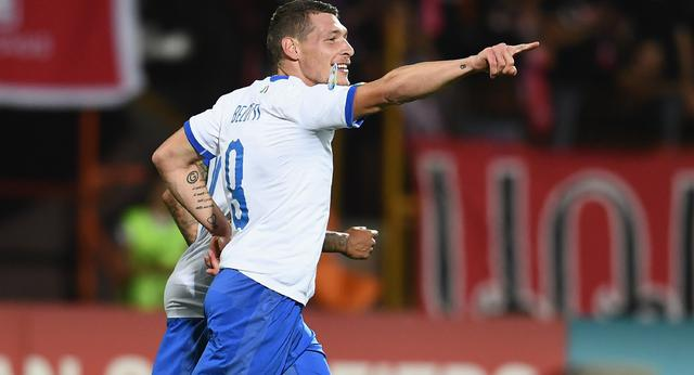L'attaccante Andrea Belotti, FOTO: FIGC.IT
