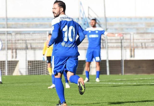 L'esterno offensivo Nicola Strambelli, foto: Sandro Veglia