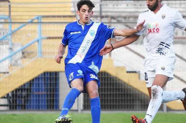 Il centrocampista Roberto Grieco, foto: Sandro Veglia