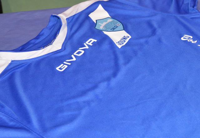La maglia del settore giovanile biancoazzurro, foto: Federico Longo