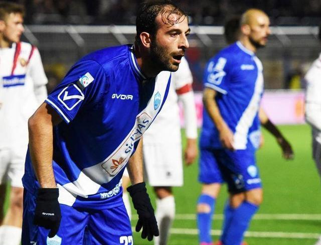 L'attaccante Gianvito Plasmati, foto: MateraCalcioStory.it