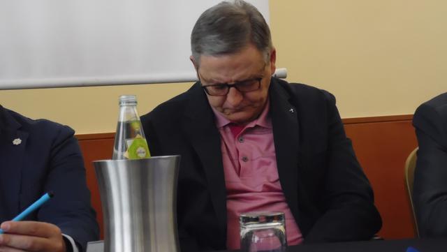Il presidente Pietro Rinaldi della Figc Basilicata, FOTO: TUTTOMATERA.COM