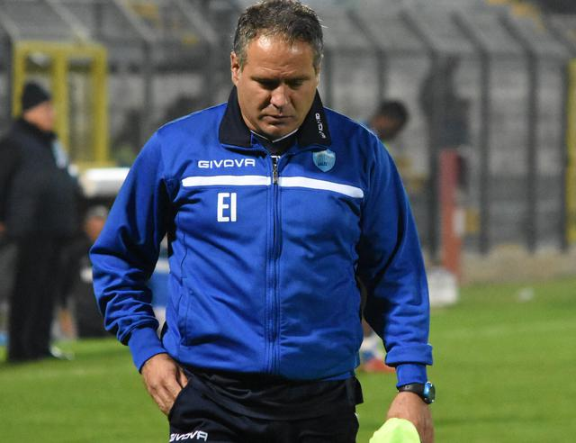Il tecnico Eduardo Imbimbo, foto: Sandro Veglia