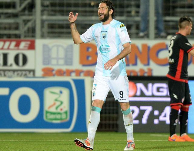 L'attaccante Ferdinando Sforzini, foto: Fonte Web