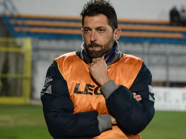 Il tecnico Luca D'Angelo, foto: Emanuele Taccardi