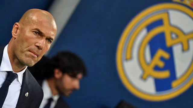 Il tecnico Zinedine Zidane, foto: Fonte Web
