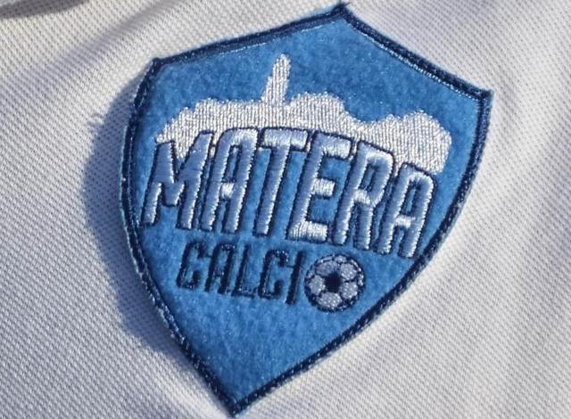 Il logo del Matera Calcio, foto: Emanuele Taccardi