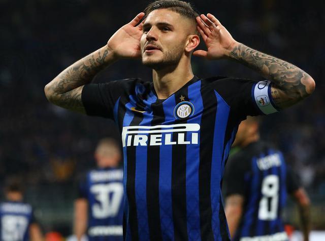 L'esultanza di Mauro Icardi dopo il gol, foto: Inter.it