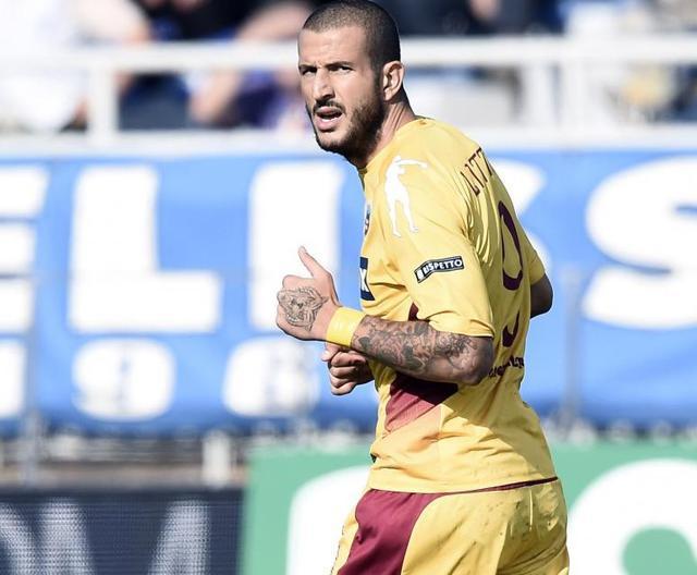 L'attaccante Gianluca Litteri, foto: Fonte Web