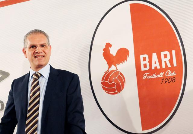 Il presidente dei biancorossi Cosmo Giancaspro, foto: Fonte Web