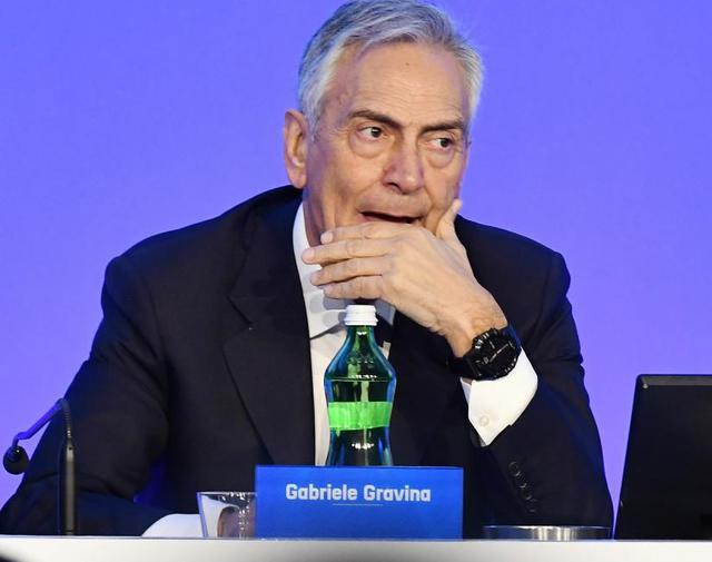 Il presidente Gabriele Gravina, foto: TuttoMercatoWeb.com