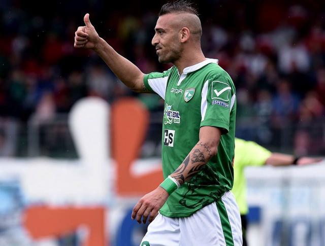 L'attaccante Luigi Castaldo, foto: Fonte Web