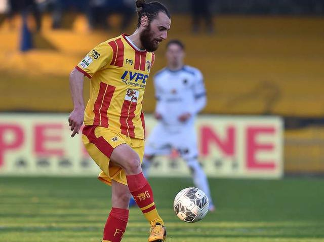 Il centrocampista Enrico Pezzi, foto: Fonte Web