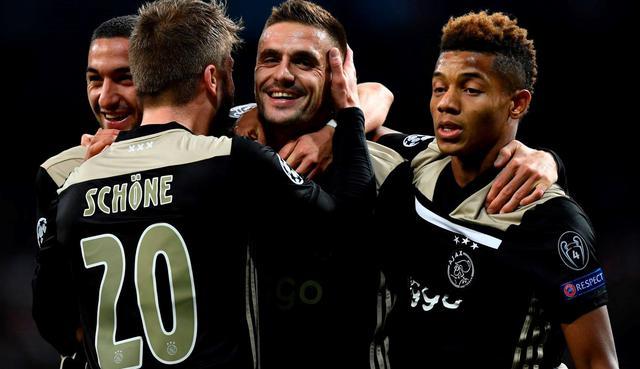 L'esultanza dell'Ajax, foto: Fonte Web