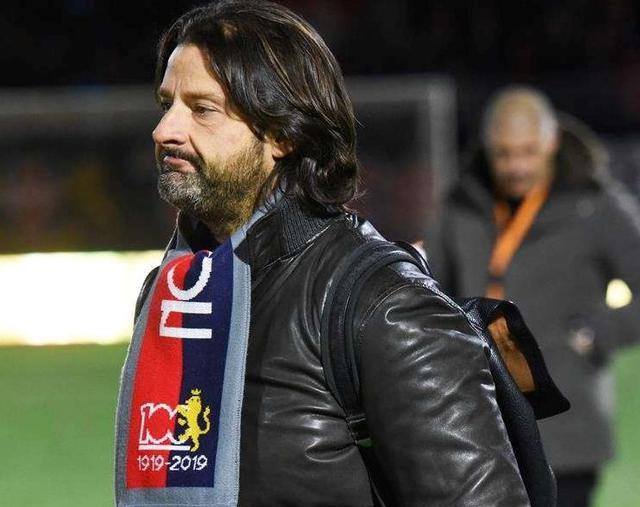 Il presidente de rossoblu Salvatore Caiata, foto: Giuseppe Di Tommaso