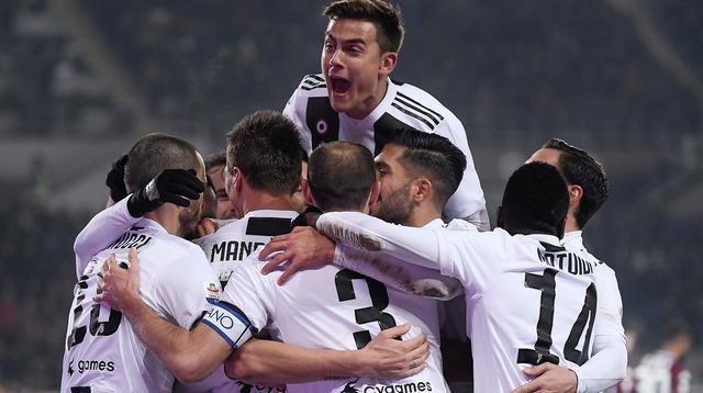 L'esultanza dei bianconeri, foto: Juventus.com