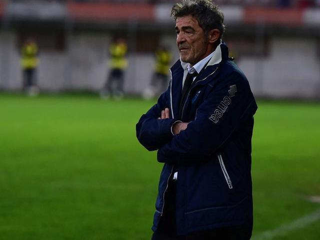 Il tecnico dei biancoazzurri Gaetano Auteri, foto: Ernesto Pescatore