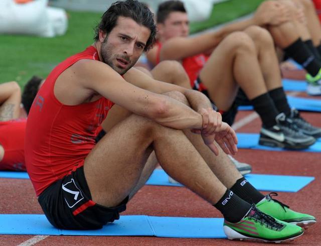 L'attaccante Gianvito Plasmati, foto: TuttoNocerina.it