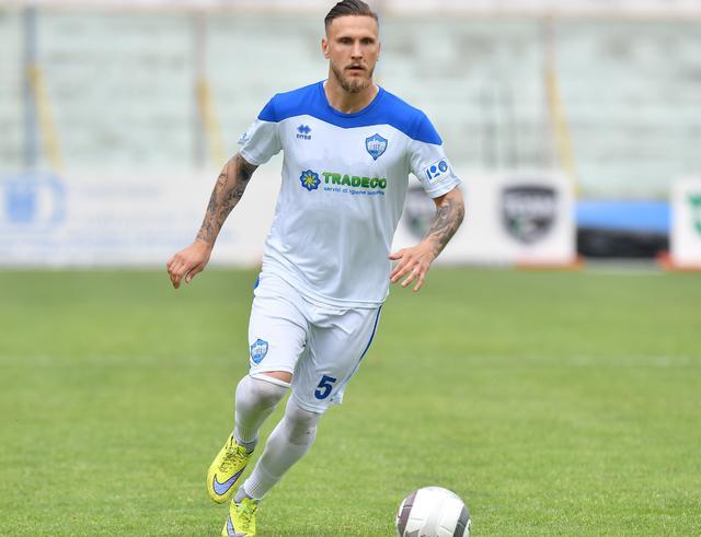 Il difensore Stefano Scognamillo, foto: Giuseppe Scialla