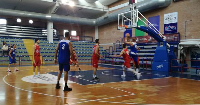Una fase di Sant'Antimo-Olimpia Matera, FOTO: FONTE WEB