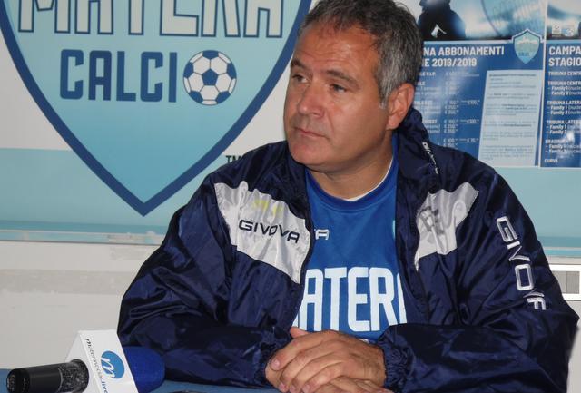 Il tecnico Eduardo Imbimbo, foto: TuttoMatera.com