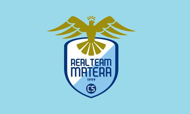 Il logo del Real Team Matera, FOTO: FONTE WEB