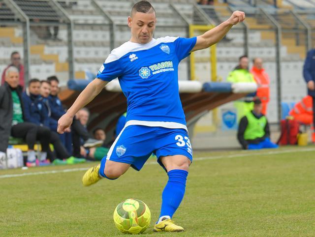 L'esterno offensivo Filippo Tiscione, foto: Emanuele Taccardi