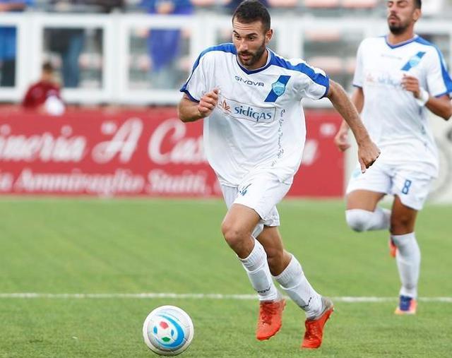 Il centrocampista Manuel Ricci, foto: Giovanni Pappalardo