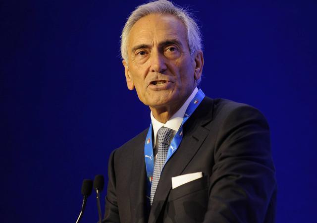 Il neo presidente della Figc Gabriele Gravina, foto: Figc.it