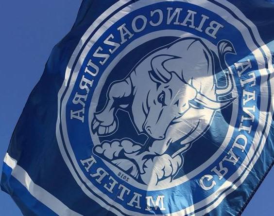 Il logo della Gradinata Biancoazzurra, foto: Fonte Web