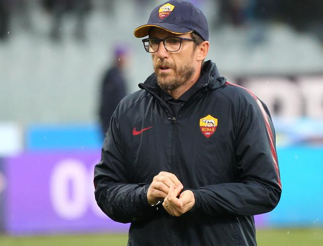 Il tecnico Eusebio Di Francesco della Roma, foto: Fonte Web