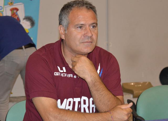 L'allenatore Eduardo Imbimbo, foto: Federico Longo