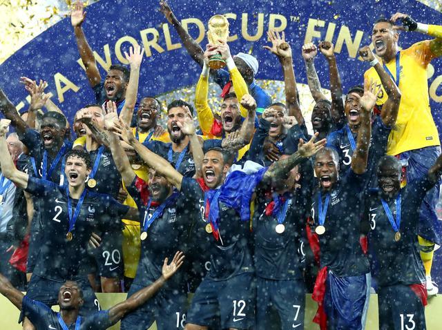 I festeggiamenti della Francia, foto: Fonte Web